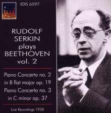 Rudolf Serkin plays Beethoven Vol.2, CD