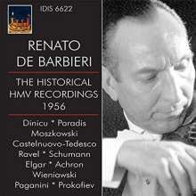 Renato de Barbieri - The Historical HMV Recordings, CD