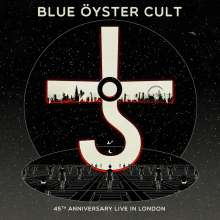 Blue Öyster Cult: 45th Anniversary: Live In London (Deluxe Edition), 1 CD und 1 DVD