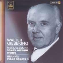 Walter Gieseking,Klavier, CD