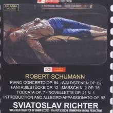 Robert Schumann (1810-1856): Klavierkonzert op.54, 2 CDs