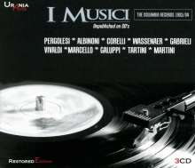 I Musici - The Columbia Records 1953/1954, 3 CDs
