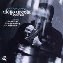 Diego Urcola: Appreciation, CD