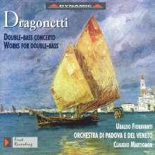Domenico Dragonetti (1763-1846): Kontrabaßkonzert in G, CD