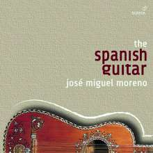 Jose Miguel Moreno - The Spanish Guitar, 12 CDs