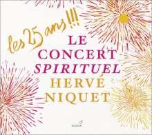 Le Concert Spirituel - Les 25 Ans, 2 CDs