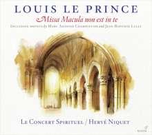 Louis Le Prince (17.Jh.): Missa Macula non est in te (1663), CD