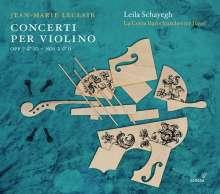 Jean Marie Leclair (1697-1764): Violinkonzerte op.7 Nr.2 & 6;op.10 Nr.2 & 6, CD