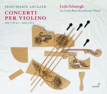 Jean Marie Leclair (1697-1764): Violinkonzerte op.7 Nr.1 & 3;op.10 Nr.1 & 3, CD