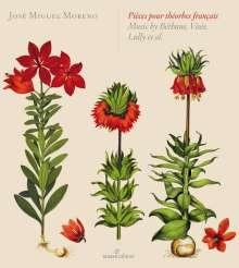 Jose Miguel Moreno - Theorbes francaises, CD