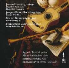 Kammermusik mit Gitarre, CD