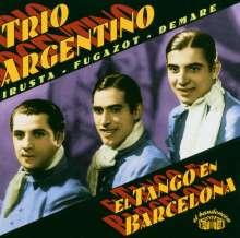 Trio Argentino: El Tango En Barcelona, CD