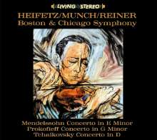 Heifetz / Munch / Reiner, CD