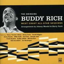Buddy Rich (1917-1987): The Swinging Buddy Rich: West Coast All-Star Sessions, CD