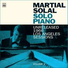 Martial Solal (geb. 1927): Solo Piano: Unreleased 1966 Los Angeles Session - Volume 2, CD