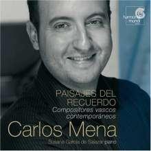 Carlos Mena - Chansons basques (Paisajes del Recuerdo), CD