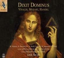 Antonio Vivaldi (1678-1741): Dixit Dominus di Praga RV 595, Super Audio CD