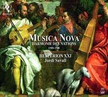 Musica Nova - Harmonie des Nations 1500-1700, Super Audio CD