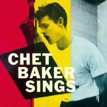 Chet Baker (1929-1988): Chet Baker Sings (Reissue 1956) (180g) (Limited Edition) (Waxtime Edition), LP