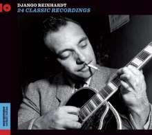Django Reinhardt (1910-1953): 24 Classic Recordings, CD