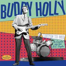 Buddy Holly: Listen To Me: The Complete 1956 - 1962 U.S. Singles, CD