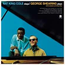 Nat King Cole & George Shearing: Nat King Cole Sings / George Shearing Plays (remastered) (180g) (Limited-Edition) +2 Bonustracks, LP