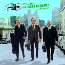 The Kingston Trio: The Five # 1 Billboard Albums, 2 CDs