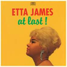Etta James: At Last! (180g) (Colored Translucent Blue Vinyl) (+4 Bonus Tracks), LP