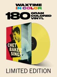 Chet Baker (1929-1988): Chet Baker Sings (Reissue 1956) (180g) (Limited Edition) (Yellow Vinyl) (Waxtime Edition), LP