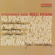 Bill Evans (Piano) (1929-1980): Everybody Digs Bill Evans (180g) (Limited Edition) (Red Vinyl), LP