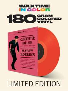 Marty Robbins: Gunfighter Ballads And Trail Songs (180g) (Limited-Edition) (Red Vinyl) (+4 Bonustracks), LP