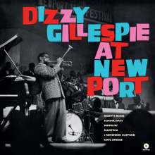 Dizzy Gillespie (1917-1993): At Newport+1 Bonus Track (180g LP), LP