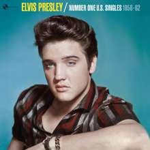 Elvis Presley (1935-1977): Number One U.S. Singles 1956 - 1962 (180g)  (+ 1 Bonus Track) , LP