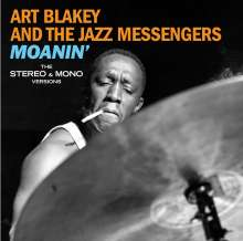 Art Blakey (1919-1990): Moanin': The Stereo & Mono Versions + 6 Bonus Tracks (Limited Edition), 2 CDs