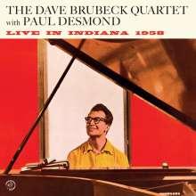 Dave Brubeck & Paul Desmond: Live In Indiana 1958+1 Bonus Track (180g LP), LP