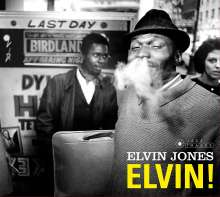 Elvin Jones (1927-2004): Elvin! / Keepin' Up With The Joneses (Jazz Images), CD