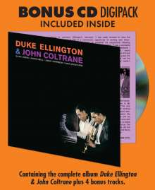 Duke Ellington & John Coltrane: Duke Ellington & John Coltrane (180g), 1 LP und 1 CD
