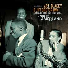 Art Blakey & Clifford Brown: A Night At Birdland (180g) (Limited Deluxe Edition), 2 LPs