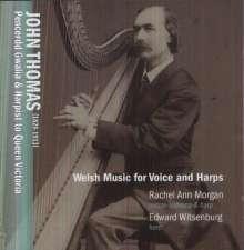 John Thomas (1826-1913): Lieder & Instrumentalstücke mit Harfe, CD