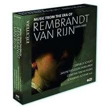 Music from the Era of Rembrandt van Rijn (1606-1669), 4 CDs