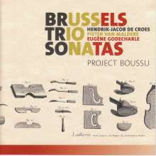 Project Boussu - Brussels Trio Sonatas, CD