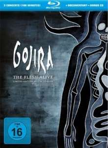 Gojira: The Flesh Alive (Limited-Deluxe-Edition), 1 Blu-ray Disc und 1 CD