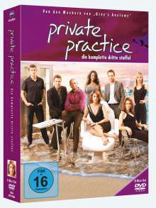 Private Practice Season 3, 6 DVDs