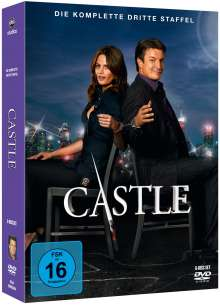 Castle Season 3, 6 DVDs