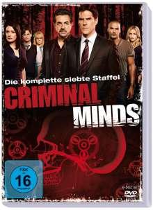 Criminal Minds Season 7, 5 DVDs