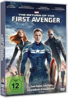 The Return of the First Avenger, DVD