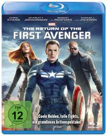 The Return of the First Avenger (Blu-ray), Blu-ray Disc