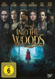 Into the Woods, DVD