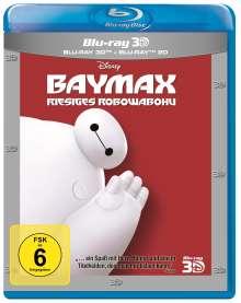 Baymax - Riesiges Robowabohu (3D & 2D Blu-ray), 2 Blu-ray Discs