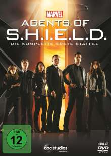 Marvel's Agents of S.H.I.E.L.D. Staffel 1, 6 DVDs